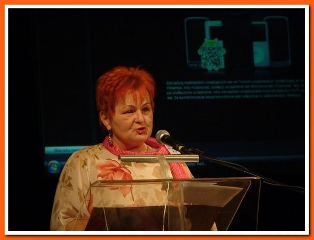 Konferencję prowadziła nasza  koleżanka Ewa Piwczyk