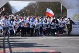 Częstochowa: Bieg Tropem Wilczym na Promenadzie Czesława Niemena. Na starcie stanęło 300 biegaczy