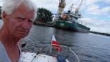 Wągrowiec. Wojciech Woźniak przepłynął swoim minijachtem pół Polski. Wpłynął nim do Bałtyku!