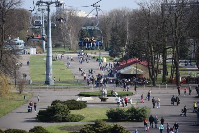 Sobota, 30 marca w Parku Śląskim