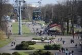 Park Śląski w wiosennej odsłonie. Słoneczna sobota przyciągnęła tłumy ZDJĘCIA