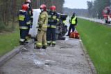 UWAGA!!! Wypadek na trasie ze Skierniewic do Bolimowa. Utrudnienia w ruchu