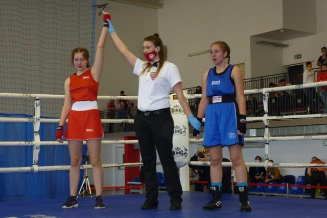 Marta Soluch z RSB Nokaut Radomsko wygrywa jednogłośnie na punkty