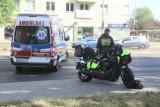 Wrocław. Groźny wypadek na al. Kromera. Jedna osoba trafiła do szpitala [ZDJĘCIA]