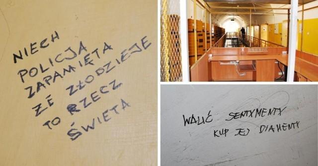 Zobaczcie zdjęcia opuszczonego aresztu. Co więźniowie pisali na ścianach?  >>>>>>>>>>>>>>