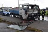 Zderzenie dwóch ciężarówek na ulicy Podmiejskiej w Kaliszu ZDJĘCIA