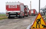 Koparka uszkodziła gazociąg w Łochowie pod Bydgoszczą. Trwa ewakuacja, są objazdy