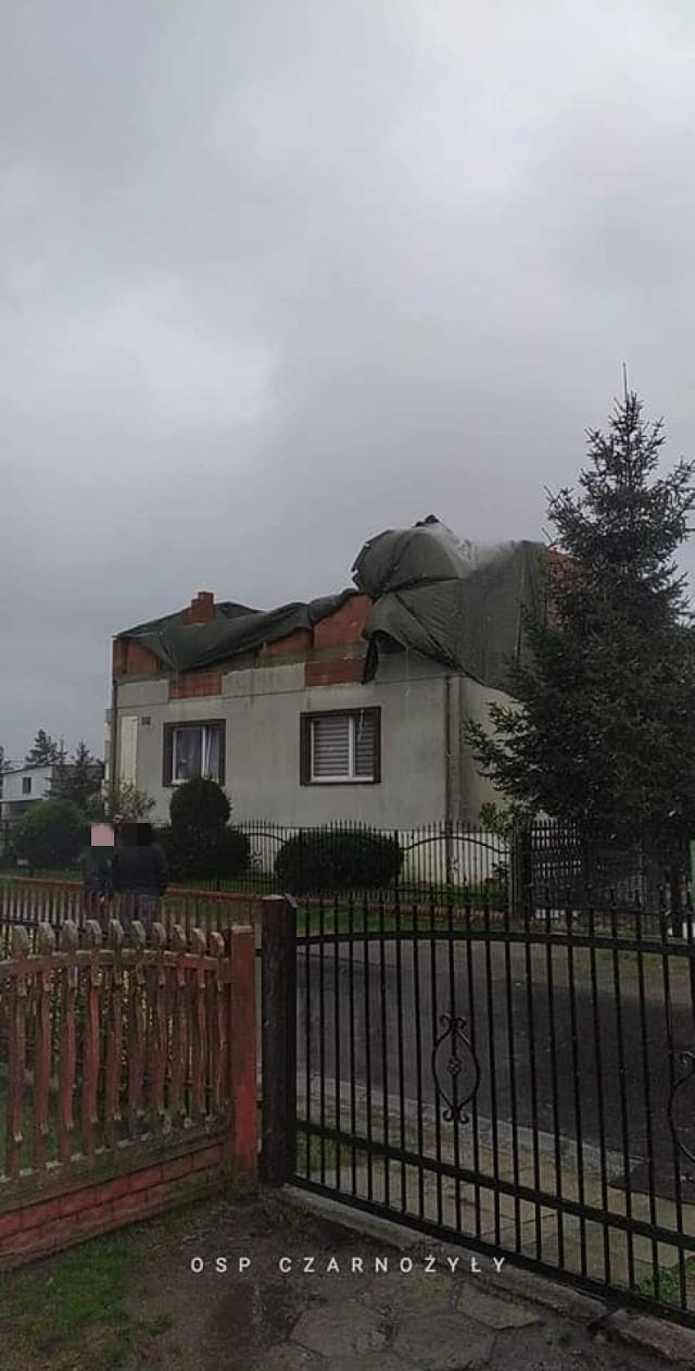 To już drugi dzień, kiedy pogoda nie rozpieszcza mieszkańców powiatu wieluńskiego
