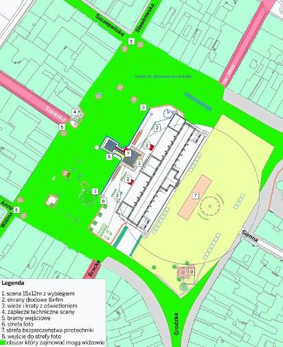 Krakow Trwaja Przygotowania Do Sylwestra Na Rynku Mapa
