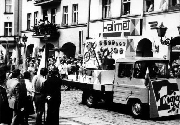 W Kaliszu w 1962 roku Święto Pracy było okazją do...