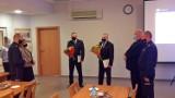 Pożegnanie policjantów w Tomaszowie Maz. Po 30 latach służby odeszli na emeryturę [ZDJĘCIA]