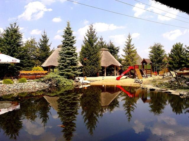 Grobla Kluki. Gospodarstwo Agroturystyczne Kardynał koło Belchatowa