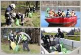 Strażacy sprzątali lasy i brzegi jeziora w gminie Lipno - Dzień Ziemi 2021 [zdjęcia]
