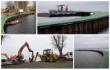 Tu zajdzie zmiana. Pogłębianie kanału, budowa falochronu i pomostu, wkrótce dobiegnie końca - 13 grudnia 2019 [Zdjęcia]