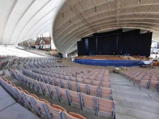 Remont amfiteatru ma się zakończyć w sierpniu tego roku.