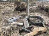 Cmentarz zniszczony. Prace zlecił ksiądz