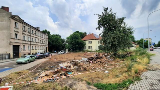 Rudera przy ulicy Handlowej w Kaliszu została wyburzona