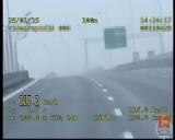 20-latka pędziła 215 km/h na trasie S-2 [wideo]