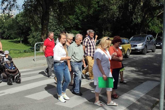 Protest mieszkańców ul. Paganiniego