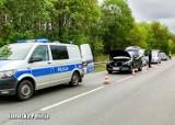 Policjanci z Krosna Odrzańskiego i Gubina zatrzymali w Połupinie kierowcę po pościgu. Prowadził mazdą skradzioną na terenie Niemiec