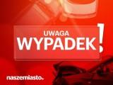 Wypadek motocyklisty pod Piłą na drodze krajowej nr 11. Duże utrudnienia dla kierowców