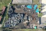 Niebezpiecznych substancji jest w Mysłowicach coraz mniej. Składowisko ma zniknąć do końca października. Zostało jeszcze około 2 tys. ton