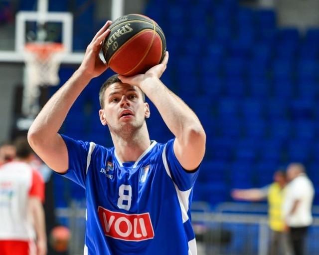 Dragan Apić, nowy koszykarz Enei Zastalu BC Zielona Góra.