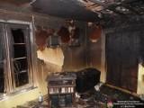 Pożar w Walentynowie: Ogień strawił dom (ZDJĘCIA)