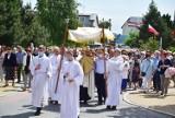 Uroczystość Bożego Ciała w Kwidzynie. Tak modlono się podczas procesji eucharystycznej w parafii Miłosierdzia Bożego