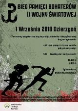Bieg Pamięci Bohaterów II Wojny Światowej 1 września w Dzierzgoniu