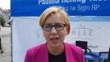 Września: Posłanka Paulina Hennig-Kłoska apeluje do burmistrza Wrześni - wycinka drzew nad Zalewem Lipówka