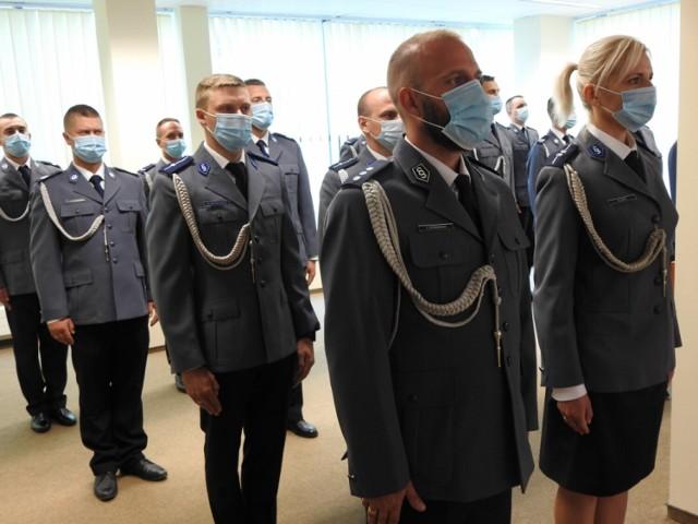 Uroczystości święta policji w szczecineckiej komendzie