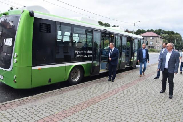 Na drogi powiatu wodzisławskiego wyjedzie elektryczny autobus