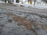 Alert pogodowy - na drogach i chodnikach powiatu szczecineckiego będzie ślizgawica