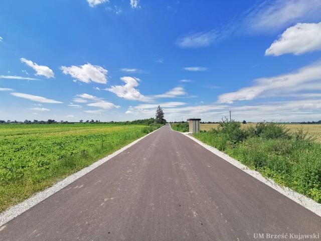 Brześć Kujawski.Drogi gminne są modernizowane