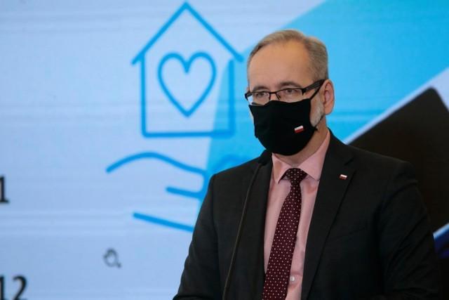 Minister Zdrowia Adam Niedzielski przedstawił nowe obostrzenia. Będą obowiązywać od 28 grudnia