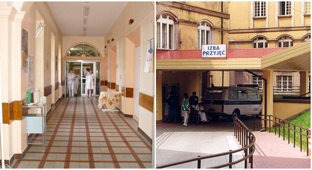 Dawny szpital przy ul. Westerplatte w Świdnicy w 2008 roku