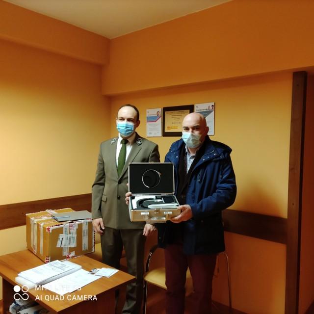 W ostatnim czasie sanocki szpital wzbogacił się o nowy sprzęt medyczny.