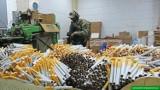 Mazowieckie. Straż Graniczna zlikwidowała fabrykę nielegalnych papierosów. 16 osób zatrzymanych