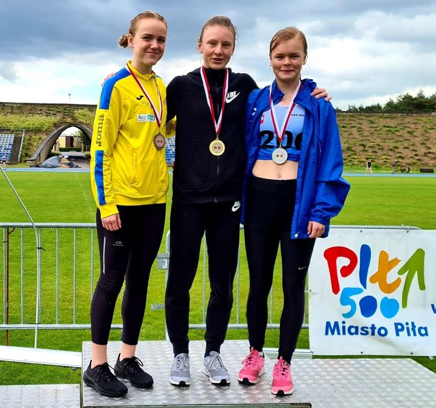 Paulina Stempniak mistrzynią Wielkopolski w biegu na dystansie 1,5 km