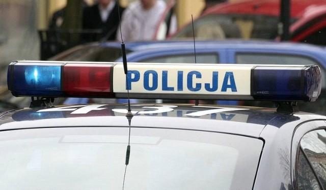 Policjanci ukarali kierowcę, który przekroczył prędkość w terenie zabudowanym.