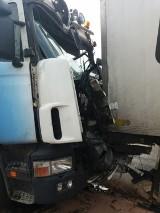Wypadek na DK1 przed Kościelcem [ZDJĘCIA]