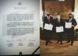 Burmistrz Dusznik-Zdroju podpisał porozumienie z przedstawicielami PiS-u
