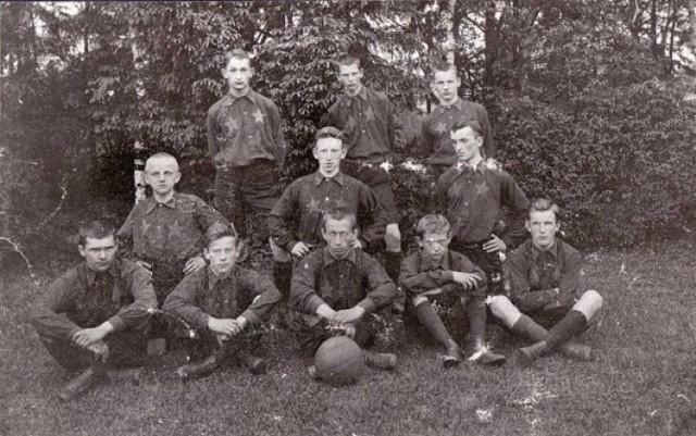 To najstarsze zdjęcie Wisły Kraków pochodzi z 1907 roku