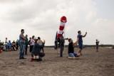 Klucze. Ponad sto startów rakiet na Pustyni Błędowskiej. Festiwal Meteor 2021 [ZDJĘCIA]