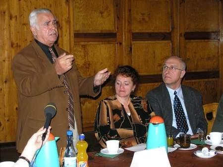 Podczas debaty Roman Najda z Czerska zasygnalizował m.in. problem bezrobotnych, którzy wcale nie chcą pracować.