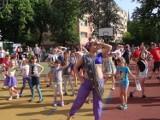 Gwiazdami byli gracze Gliwice Lions, którzy pokazali dzieciom, jak gra się w futbol amerykański