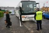 Lubliniec: Policja kontroluje autokary, ale przypomina, że kontrole odbywają się w tym roku w nowym miejscu