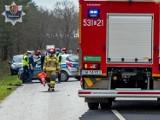 Tragiczny wypadek w powiecie polkowickim. Auto wypadło z drogi. Nie żyje 26-latek
