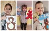 Zbąszyń: ZSP Przyprostynia - Pierwszoklasiści  i misie świętują - Miś przyjacielem dzieci 2020 [Zdjęcia}